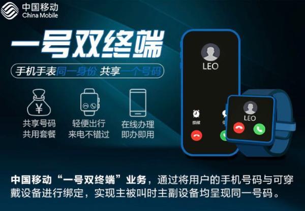 中国移动一号双终端业务陆续商用 eSIM开启万物智联的星辰大海