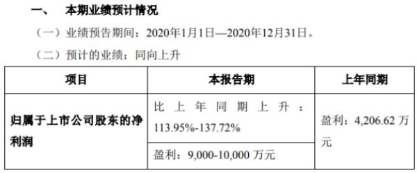 华仁药业2020年预计净利9000万-1亿 利息费用减少