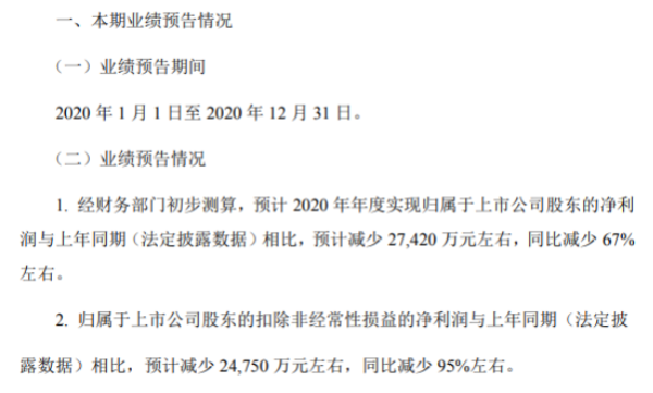 渤海轮渡2020年预计净利同比减少2.74亿减少67% 高速公路免费及政府补助减少
