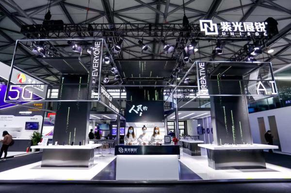 首款5G套片销售半年破百万:紫光展锐亮相2021 MWC上海