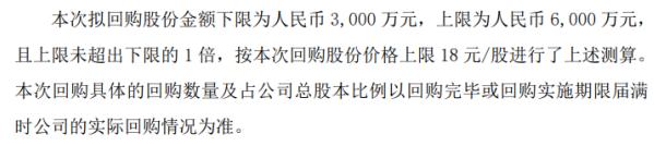 威派格将花不超6000万元回购公司股份 用于作为公司股权激励计划的股票来源