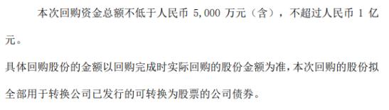塞力医疗将花不超1亿元回购公司股份 用于转换公司已发行可转换为股票的公司债券