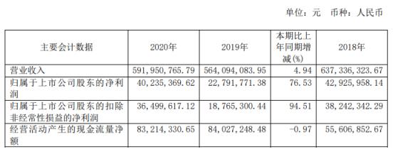上海亚虹2020年净利增长77%:总经理徐志刚薪酬49.29万