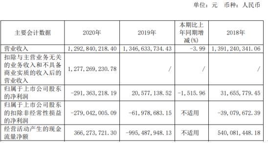 新华传媒2020年亏损2.91亿 同比由盈转亏
