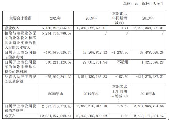 汉马科技2020年亏损4.91亿:总经理刘汉如薪酬75万