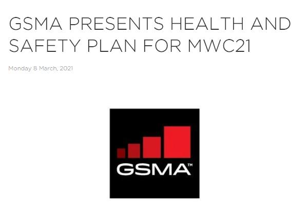 GSMA:有信心安全举办2021年MWC巴塞罗那活动