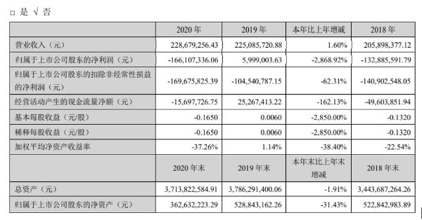 华控赛格2020年亏损1.66亿元 总经理童利斌薪酬38.73万