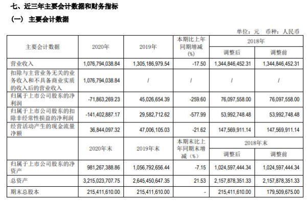 曲江文旅2020年亏损7186.33万  总经理杨涛薪酬48.3万