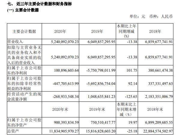 鹏博士2020年净利1.01亿  董事长杨学平薪酬133.66万