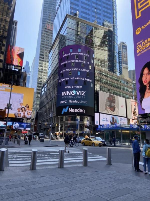激光雷达企业Innoviz成功上市,市值超14亿美元