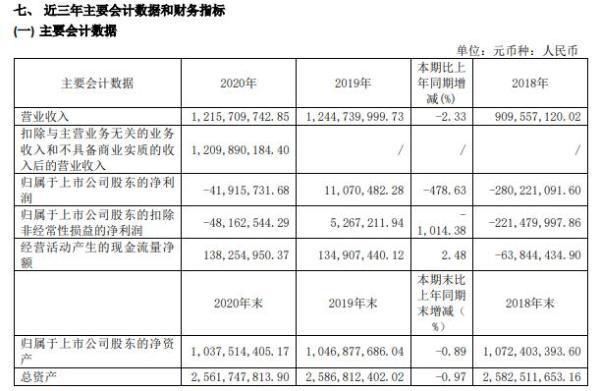 动力源2020年亏损4191.57万 董事长何振亚薪酬73.4万