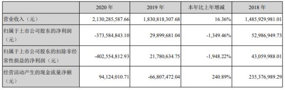仁东控股2020年亏损3.74亿 董事长霍东薪酬120万