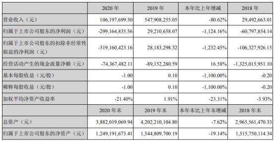 中迪投资2020年亏损2.99亿 财务总监李鹤梅薪酬55.26万