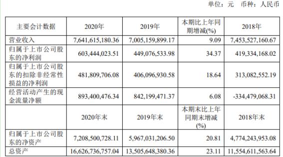 华光环能2020年净利增长34.37% 董事长蒋志坚薪酬94.05万