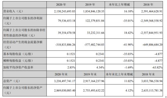 深大通2020年净利下滑35.01% 董事长史利军薪酬46.17万