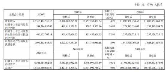 新安股份2020年净利增长26.85% 董事长吴建华薪酬132万