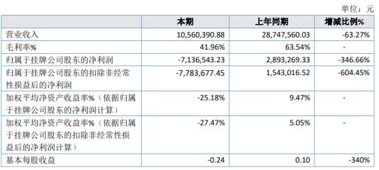 储吉信息2020年亏损713.65万 部分项目执行推迟至2021年