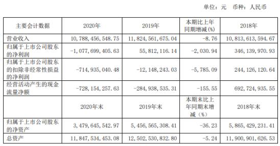 哈药股份2020年亏损10.78亿 总经理徐海瑛薪酬401.6万