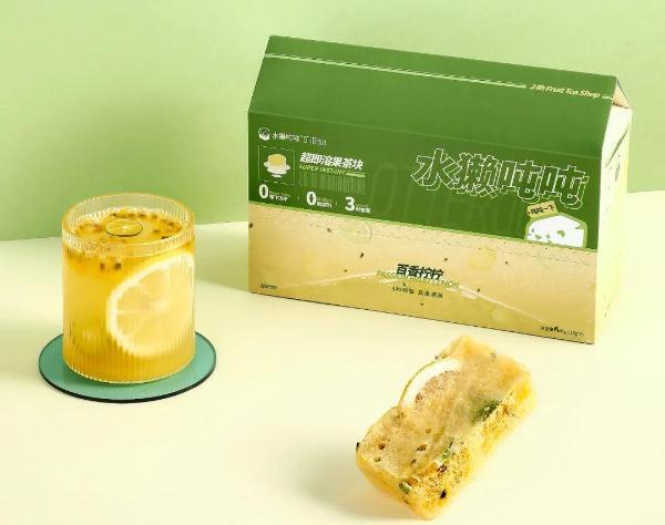 3秒做好一杯新式果茶,水獭吨吨采用冻干技术打造超即溶水果茶块