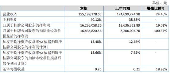 中技能源2020年净利增长19.02% 湖南中技华实能源有限公司投产