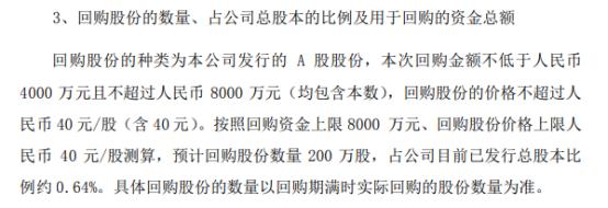 上海新阳将花不超8000万元回购公司股份 用于后续实施员工持股计划