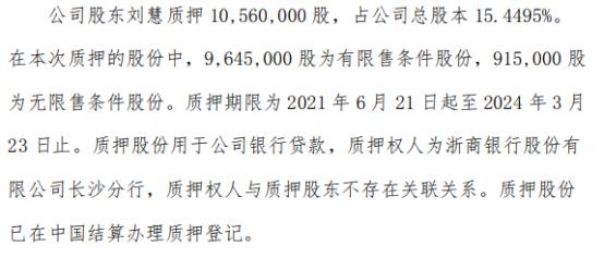华光源海3名股东合计质押4446.5万股 用于公司银行贷款