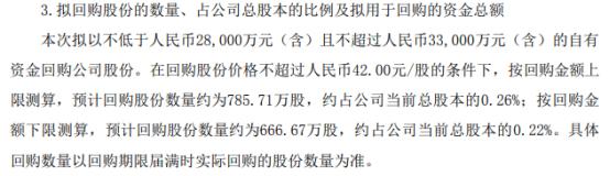 中环股份将花不超3.3亿元回购公司股份 用于股权激励