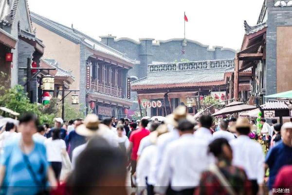 打造红色旅游品牌 万达延安红街正式开业