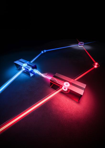 中国科大首次实现两个固态存储器间的量子纠缠 为实用化高速量子网络打下基础
