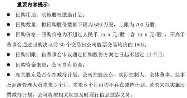江中药业将花不超1.16亿元回购公司股份 用于实施股权激励计划