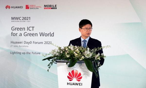 华为李鹏:ICT技术可使全球减少20%碳排放
