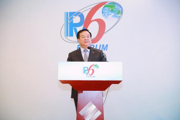 """中国电信李正茂:践行""""云改数转"""",推进基于IPv6的云网融合"""