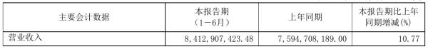浙江龙盛2021年半年度净利25.24亿元 同比净利增加11.24%