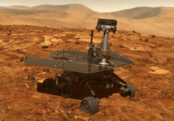 """你快回来:NASA在火星上运行15年的""""机遇号""""探测器至今杳无音信"""