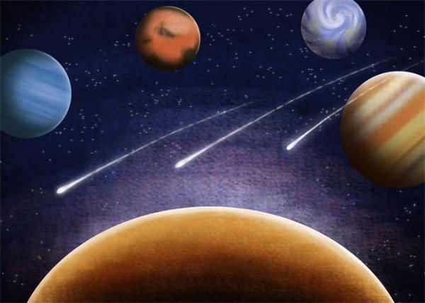 """类太阳恒星Eta Corvi出现""""彗星雨"""" 该恒星可以再现太阳系形成过程?"""