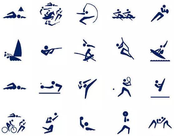 倒计时500天!东京奥运会体育图标发布 同日发售价值920日元邮票组