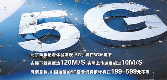 中国电信抢跑5G不易