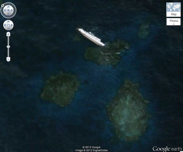 幽灵岛、神秘金字塔、血湖、UFO……扒一扒谷歌地球上最奇怪的景象