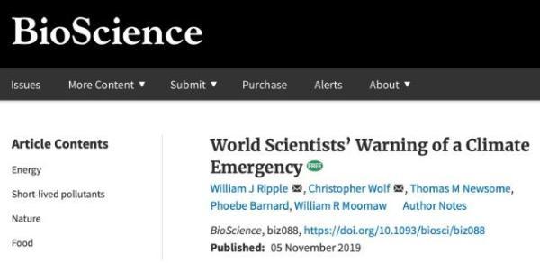 地球生病了!上万名科学家警告全球气候危机:比你预想的更快更严