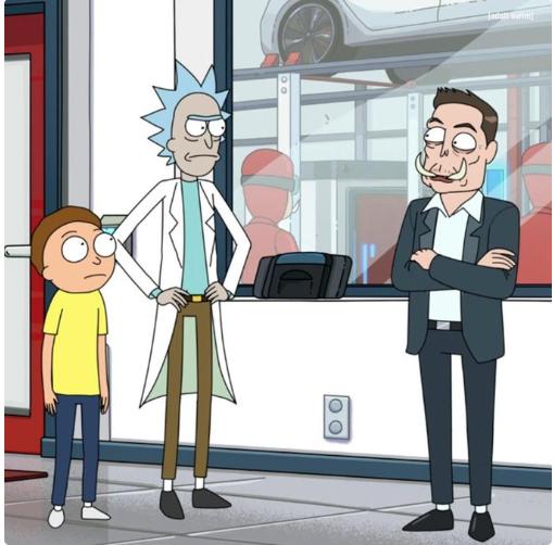 本色出演!马斯克客串美国成人科幻动画片 他是硅谷最能演的CEO