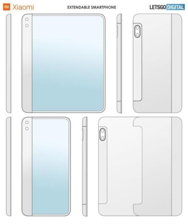 小米伸缩屏手机曝光!可拉出变身平板电脑大小 或采用卷轴式滚动设计