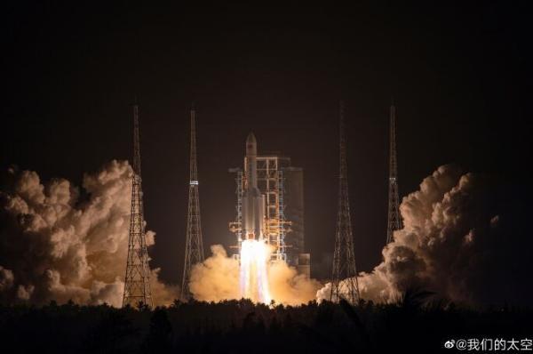 胖五发射成功!2020年有望发射嫦娥五号赴月采样返回、火星探测器