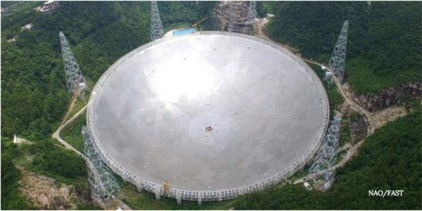 历时3年,位于中国贵州的FAST单碟射电望远镜即将完成测试阶段!