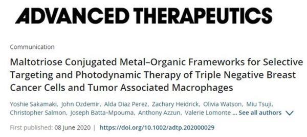 无创疗法!新型纳米药物可杀死侵袭性乳腺癌细胞 不会对正常细胞产生毒性