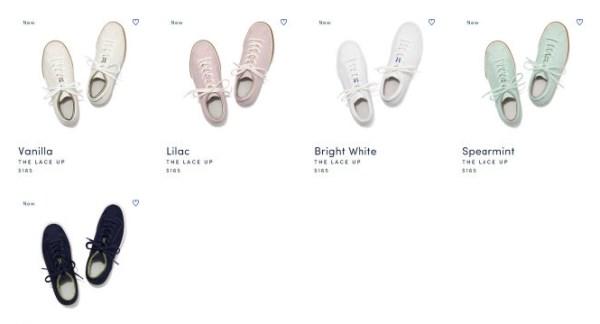 rothy's推出可循环利用环保休闲鞋
