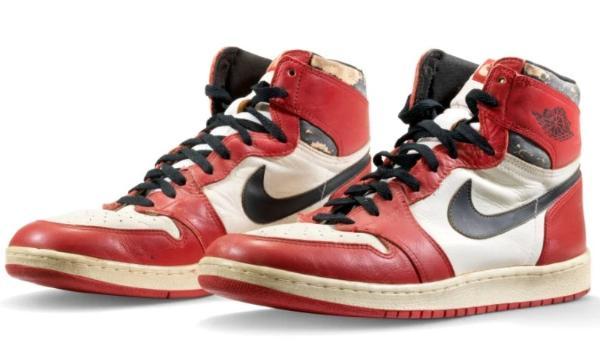 Jordan运动鞋拍卖价再创新高 拍卖价达61.5万美元