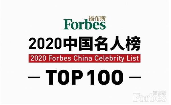 新生代崛起!2020福布斯中国名人榜出炉:易烊千玺登顶,6位00后上榜