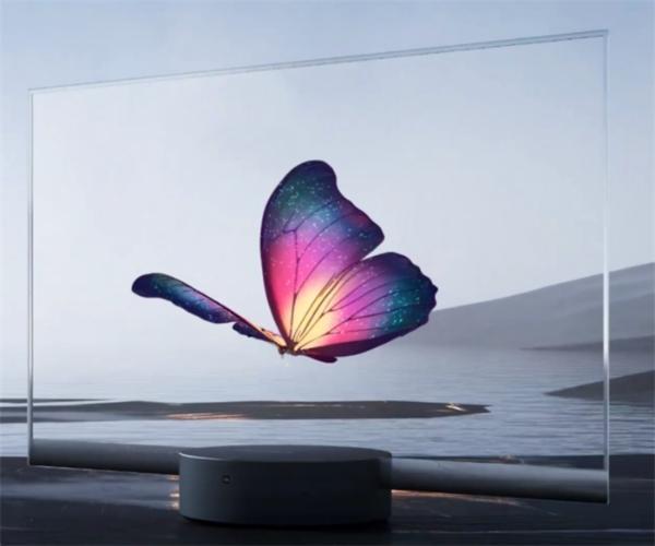 黑科技!小米发布全球首款量产透明电视,悬浮OLED屏幕如普通玻璃般通透
