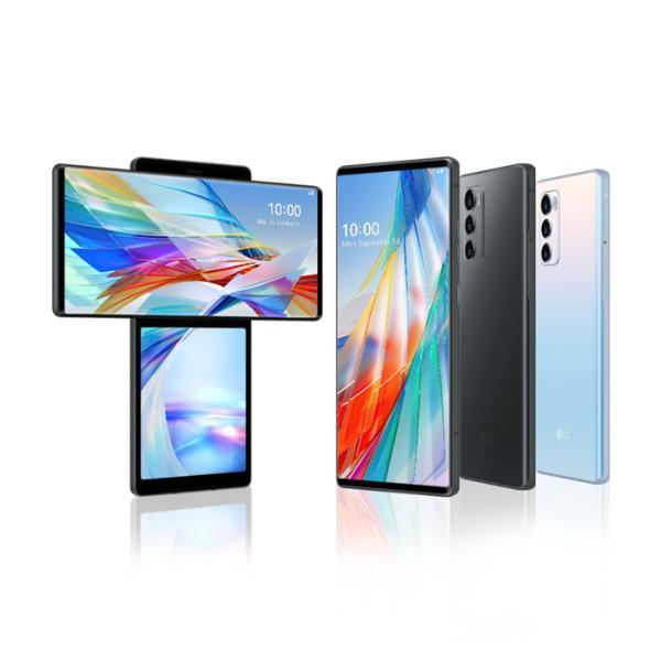 折叠屏手机不新鲜了?LG正式发布旋转手机,双屏5G价格美丽