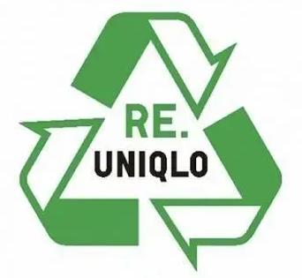 """日本快时尚优衣库设计了一个""""垃圾回收""""的LOGO"""